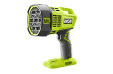 Ryobi LED Spotlight Flashlight Work Light 18V Cordless Lithium Ion Dual Powered