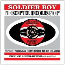 Various - Soldier Boy (The Scepter Records Story 1961-1962) 2 CD'S - NEW