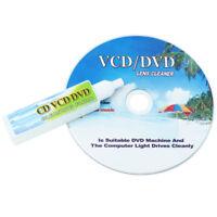 CD DVD Drive Player Lens Laser Head Dirt Cleaner Cleanning Disc & Fluid New X 1