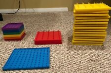 Lot Of 24 Geo Boards Various Sizes And Colors Teacher Supplies Educational Math