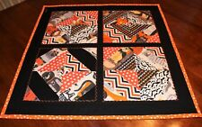 Halloween Furry Trick or Treaters Table Topper Quilt Handmade