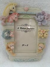 baby animals nursery picture frame 3 1/2 x 5 Frame