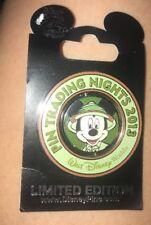 Disney Pin Trading Night 2013 Mickey Spinner Animal Kingdom Ptn Le 750