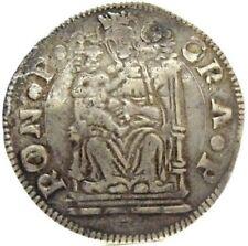 PESARO (Giovanni Sforza) Grosso,trono con gradini-RRR.