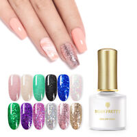 BORN PRETTY 6ml Sequins Gel Polish Glitter Soak Off UV Gel Nails Gold Silver DIY