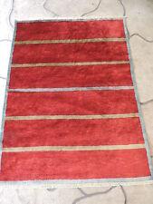 4x6ft. Handmade Afghan Chobi Wool Striped Rug