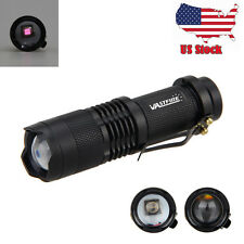 OSRAM IR LED 5W 850nm Zoom Infrared Tactical Hunting Flashlight Night Vision USA