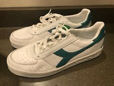 Diadora B.Elite  Mens White Leather Casual Low Top Sneakers Shoes 13