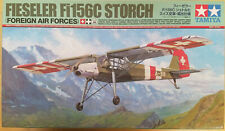 1/48 Tamiya Fieseler Fi156c Storch Foreign Air Forces Plastic Scale Model Kit