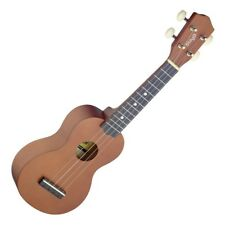 Stagg USNAT Traditional Soprano Ukulele With Natural Wood Finish