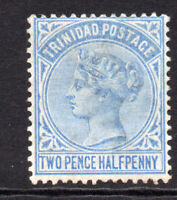 Trinidad 2 1/2 Penny Stamp c1883-84 Mounted Mint Hinged (7767)