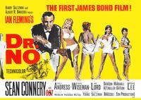 James Bond jagt Dr. No (Sean Connery) - Filmposter DIN A1