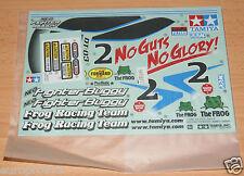 Tamiya 58587 Neo Fighter Buggy/DT03, 9495811/19495811 Decals/Stickers, NIP