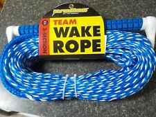 Towing Wake Rope 3 Section 65 Ft
