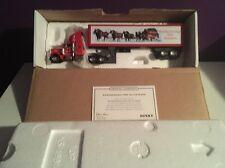 Matchbox Peterbilt Budweiser Holiday Greetings Brand New In Box