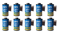 10 Rolls CVS 400 35mm Film Color 135-24 BULK Camera Lomo
