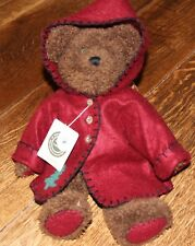 "VINTAGE BOYDS BEARS &  FRIENDS ""ELIJAH BEARRINGER"" PLUSH 14"" CHRISTMAS BEAR"
