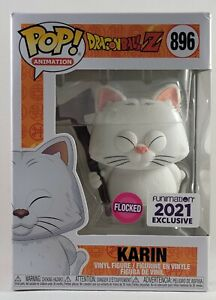 Funko Pop! Dragon Ball Z Karin Flocked Funimation Exclusive vinyl figure #896