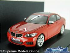 BMW 2 Series Coupe Model Car 1 43 Scale Red Herpa Special Dealer Issue K8