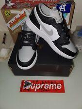 Nike Air Jordan 1 Low GS Light Smoke Grey Toe 553560-039 Size 5Y IN HAND