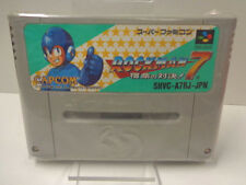 SNES juego-Rockman 7/Mega Man 7 (jap import) (módulo)