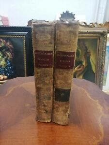 ALBERTI DE VILLENEUVE Dictionnaire Francais Italien Vignozzi 1833 COMPLETO 2 vol