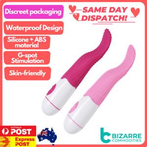 Clitoris Stimulator G-spot Massage Tongue Vibrator Oral Licking Female sex toys