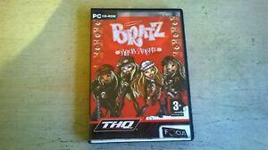 BRATZ : ROCK ANGELZ - GIRLS 2005 PC GAME - FAST POST - COMPLETE + 2 BONUS GAMES