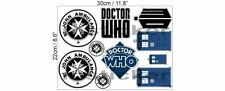 Doctor Dr. Who Aufkleber Sticker Set Tardis St John Ambulance Auto Motorrad BW