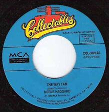 """MERLE HAGGARD - The Way I Am 7"""""""
