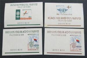 nystamps Korea Stamp # 350a//376a Mint OG H/NH    S17x2882