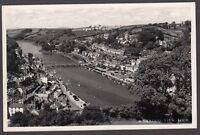Postcard Looe near Polperro Cornwall a General View RP by Raddy of Looe