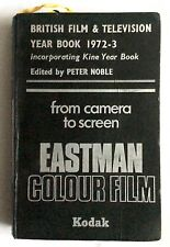 BRITISH FILM & TELEVISION YEAR BOOK 1972-3 & KINE YEAR BOOK - PETER NOBLE