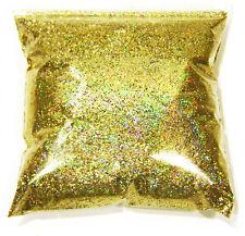 "9oz / 266ml Gold Jewels Holographic Metal Flake .015"" Paint Additive LF1709"