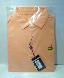 Masters Tech Golf Polo Orange Pumpkin - Augusta National Golf Shop - Large! New!