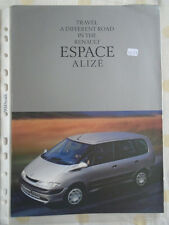 RENAULT ESPACE Alize opuscolo FEB 1999
