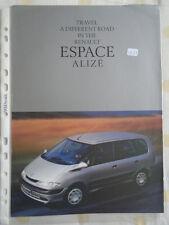 RENAULT ESPACE Alize opuscolo FEB 1999