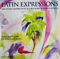 Latin Expressions CD New Guitar Chamber Music by Jorge Morel & Ricardo Iznaola