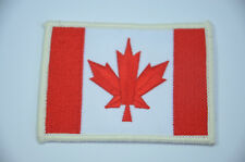 CANADA FLAG CANADIAN TORONTO  Embroidered Sew Iron On Cloth Patch Badge Jacket