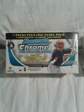 "2011 BOWMAN CHROME BASEBALL  BLASTER BOX 7 PACKS/BOX ""HARPER CHROME AUTO. ??????"