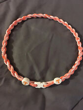 """TENNESSEE VOLUNTEERS 22"""" Titanium Double Rope NECKLACE NEW! FAST! FREE SHIP!"""