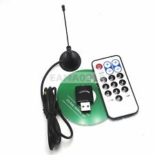 USB SDR & DVB-T Receiver, RTL2832U + R820T Tuner, MCX, Black