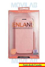 Funda Flip Cover tipo libro Samsung I9505 Galaxy S4 Kalaideng Enland Rosa