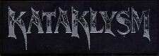 """Kataklysm """" Logo """" Patch/Aufnäher 602638 #"""