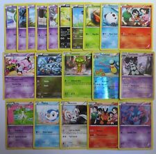 BW LEGENDARY TREASURES - 20 Pokemon Cards Bundle