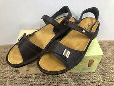NIB Naot 74256 Women's Papaya Buffalo Leather Sandal 42 (US 11)