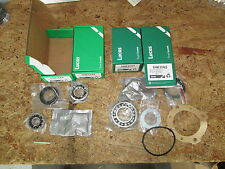 Set of 4 Lucas New Front + Rear Wheel Bearing Kits Seals MG Midget Does all 4