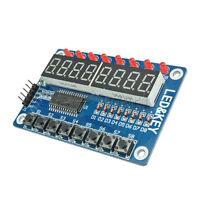 8-Bit Digital LED Tube 8-Bit TM1638 Key Display Module For AVR Arduino TE28 V1Q5