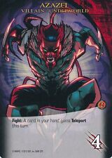 AZAZEL 2014 Upper Deck Marvel Legendary X-MEN UNDERWORLD