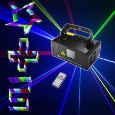 Remote Dmx 3D Effect 400mW Rgb Laser Show Dj Music Gig Bar Christmas Party Light